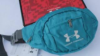 Незаменимая спортивная сумка на пояс Under Armour Sport Pro 185, бирюзовый