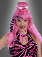 Карнавальный парик для образа первобытных женщин