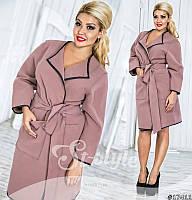 Серый короткий кардиган в категории пальто женские в Украине ... c312f8677a8db