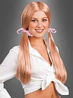 Женский искусственный парик с лентами