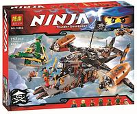 """Конструктор Ninja 10462 """"Цитадель Несчастья""""  (757 деталей) KK"""