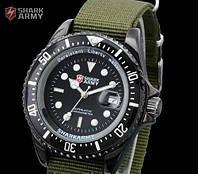 Армейские часы Shark Army Black Японскиq механизм