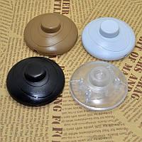 Вимикач кнопка (для торшерів, настільних ламп)
