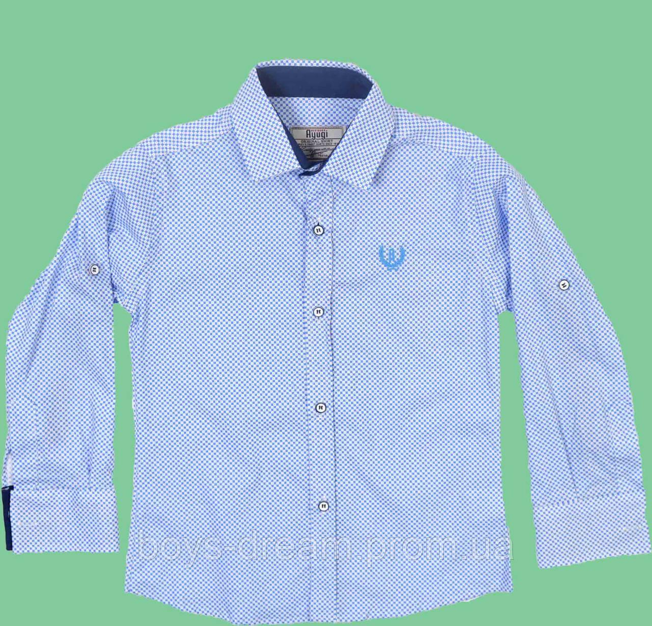 Рубашка для мальчика (116-134) (Турция)