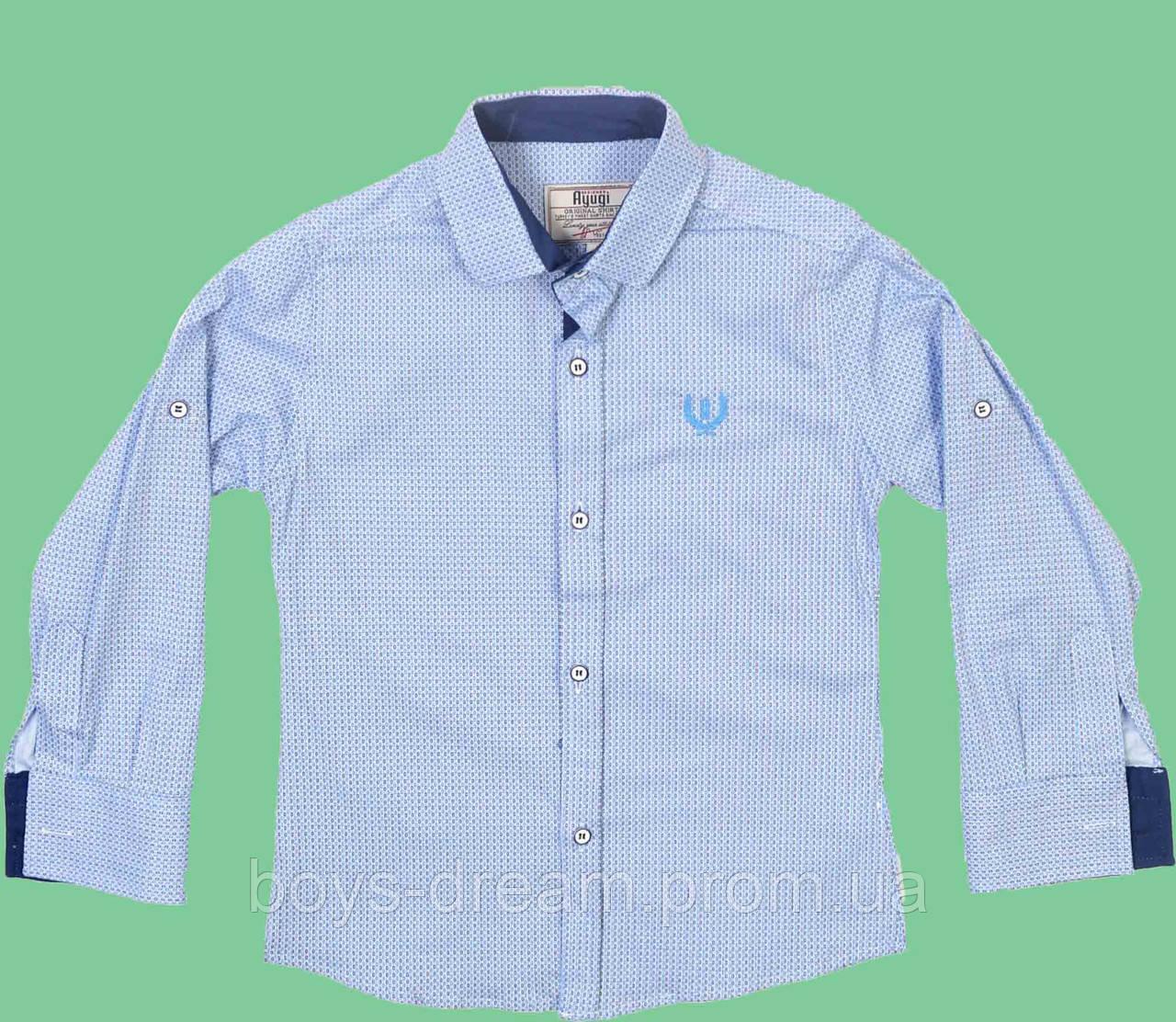 Рубашка для мальчика (116-140) (Турция)