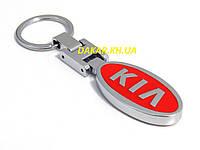 Брелок с логотипом Kia красный