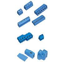 Клеммные блоки для печатных плат