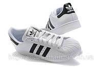 Кроссовки Adidas superstar Бело-черные, фото 1