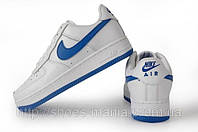 Кроссовки Nike Air Force 1 white-blue