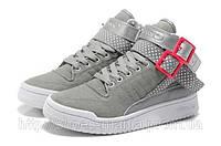 Женские кроссовки Adidas Hi grey, фото 1