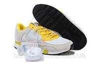 Кроссовки Adidas ZX 800 бело-желтые, фото 1