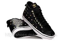 Женские кроссовки Adidas Originals черные A-30008-7, фото 1