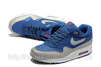 Мужские кроссовки Nike Air Max 87 (сине-серые)