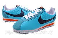 Женские кроссовки Nike Cortez голубые, фото 1