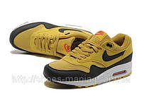 Мужские Nike Air Max 87 (yellow-black)