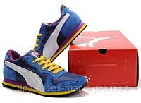 Мужские кроссовки Puma SF Trionfo Lo II white-blue, фото 1
