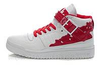 Женские кроссовки Adidas бело-красные, фото 1