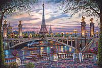 Картины по номерам 40 х 50 см. Удивительный Париж.