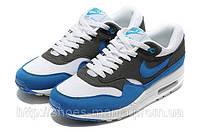 Кроссовки Nike Air Max 87 (black-white-blue)