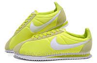 Салатовые кроссовки Nike Cortez, фото 1