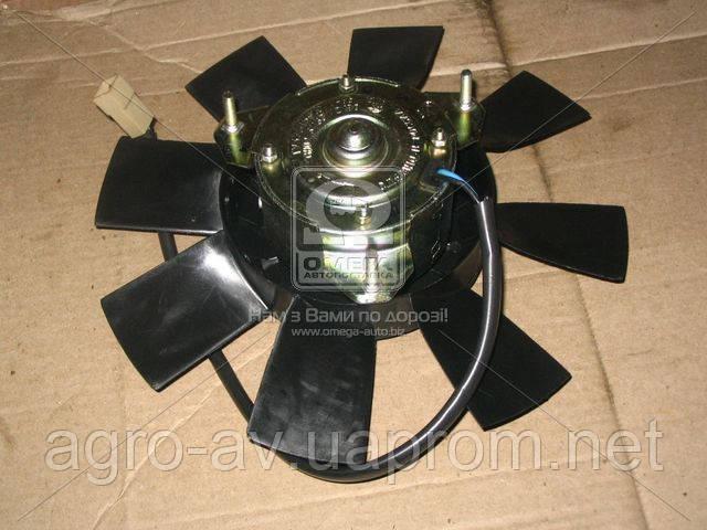 Электровент.охл.радиатора (6802.3730) ВАЗ 2103-08-09, ГАЗ 3110 с фильтр.радиопом.110Вт(пр-во г.Калуга)