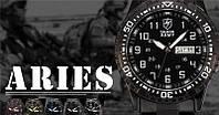 Часы мужские Shark Army Military Watch, водонепроницаемые, минеральное стекло, корпус из нержавеющей стали
