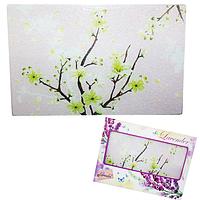 Доска разделочная стеклянная 20х30х0.5 см (11) Цветущая сакура