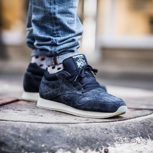 Мужские кроссовки Reebok Classic Leather Crepe