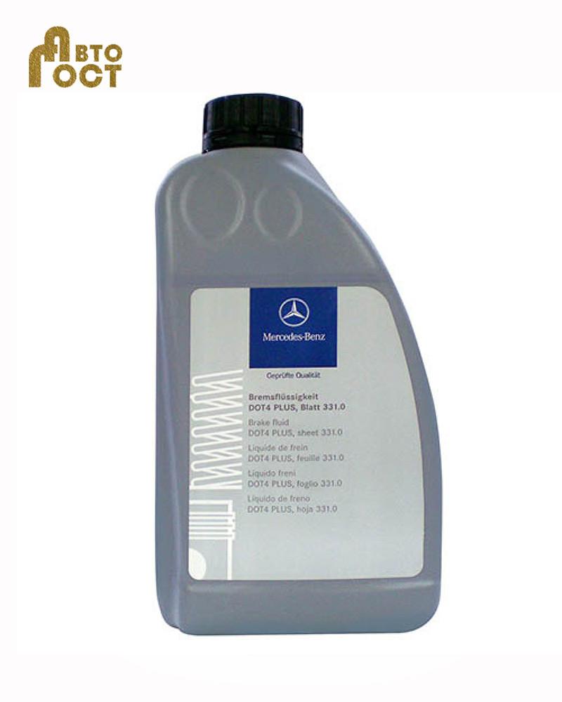 Тормозная жидкость Mercedes-Benz DOT4