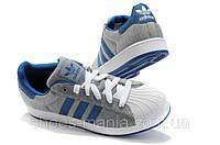 Кроссовки Adidas superstar  Бело-серые