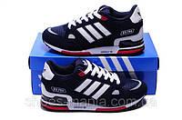 Кроссовки мужские Adidas zx-750 Синие А-10002-5
