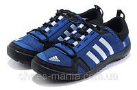 Кроссовки Adidas Daroga (black-blue-white), фото 1