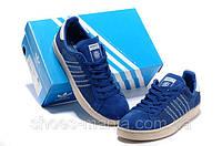 Кроссовки мужские Adidas Campus сине-белые, фото 1