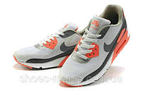 Nike Air Max 90 Hyperfuse (grey-black-orange), фото 1