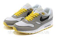 Мужские  Nike Air Max 87 (yellow-grey)