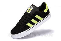 Кроссовки мужские Adidas Campus Vulc MID black-yellow, фото 1