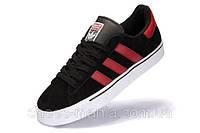 Кроссовки мужские Adidas Campus Vulc MID черно-красные