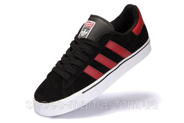 Кроссовки мужские Adidas Campus Vulc MID черно-красные - Интернет магазин  обуви Shoes-Mania a871a7a868e