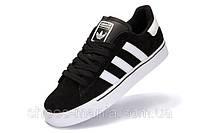 Кроссовки мужские Adidas Campus Vulc MID Черно-белые, фото 1