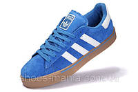 Кроссовки мужские Adidas Campus Vulc MID blue, фото 1