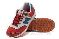 Мужские кроссовки New Balance 574 красные, фото 1