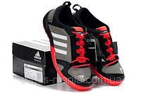 Кроссовки Adidas daroga красно-серые