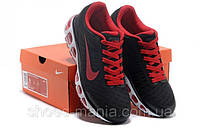 Кроссовки Nike Air Max Tail Wind +5 (black-red)