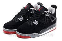Баскетбольные кроссовки Nike Air Jordan 4 черные