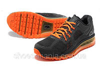 Кроссовки Nike Air Max 2013 (black-orange)