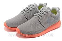 Мужские кроссовки Nike Roshe Run (grey-orange), фото 1