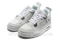 Баскетбольные кроссовки Nike Air Jordan 4 (white)