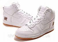 Кроссовки Nike Dunk High  (white)