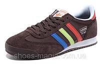 Кроссовки мужские Adidas Originals Dragon коричневые