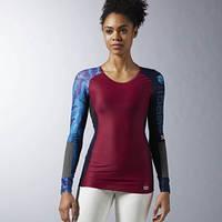 Компрессионная футболка с длинным рукавом Reebok CrossFit Built With Kevlar AX9287